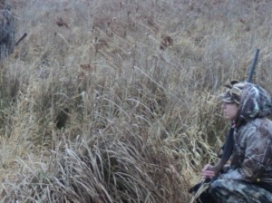 Youth hunting picture