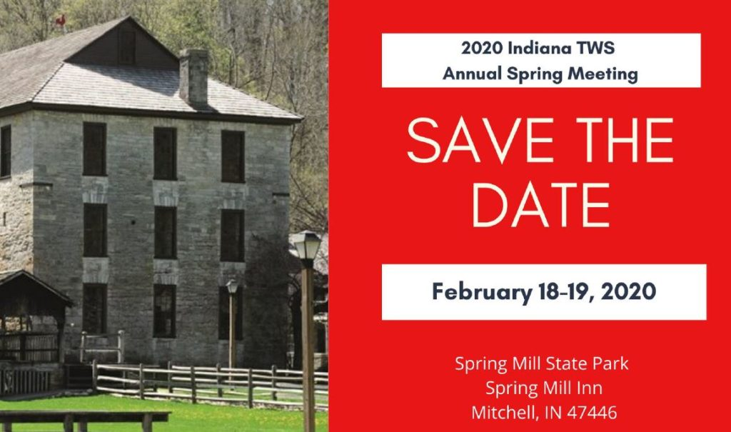 Save the Date, ITWS Spring Meeting, Feb 18 to 19